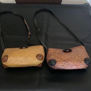 Woven Grass Bags